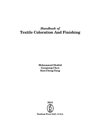 Textile Coloration And Finishing - Book Chapter